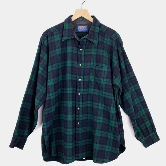 Pendleton Other - Pendleton Black Watch Tartan Plaid Wool Shirt XL